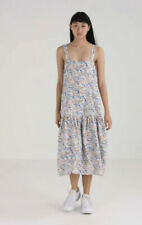 S# Weekday Womens Hockney Dress Meadow Floral Uk Small