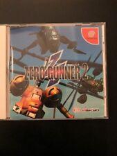 Zero Gunner 2 Sega Dreamcast Japan Original U.S. Seller