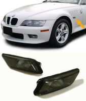 SET OF SMOKED SIDE REPEATERS INDICATORS FOR THE BMW Z3 1996-2002 NICE GIFT