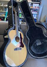 Epiphone Ej-200 Artist Edition Very Rare Sunburst Hardbody Parlor Guitar w/ Case