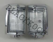 Pair Corner Front Turn Signal Light for Nissan D21 Pathfinder Pickup Ute 993/95