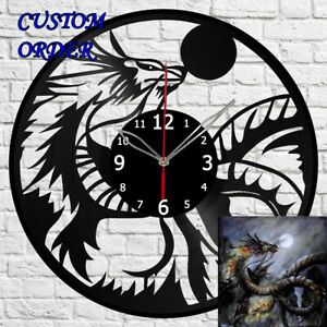 Vinyl Clock Sphynx cat Vinyl Record Wall Clock Home Art Decor Handmade 5851
