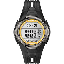 Timex T5K803, Men's Marathon Resin Watch, Indiglo, Alarm, Stopwatch, T5K803M6