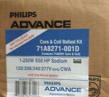 NEW Philips Core & Coil Ballast Kit 71A8271-001D W/Prewired ignitor 250W S50HPS