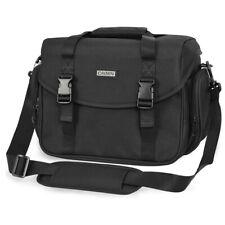 Black Camera Single Shoulder Sling Bag Backpack for Nikon Canon Sony SLR DSLR