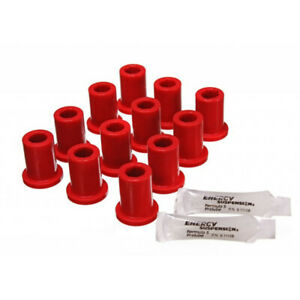 Energy Suspension For Toyota Land Cruiser 1969-1980 Spring Shackle Bushing - Red