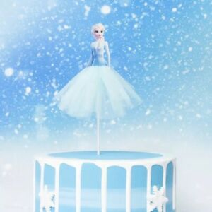 Princess Elsa Frozen themed Cake Topper Birthday Party decoration baking New