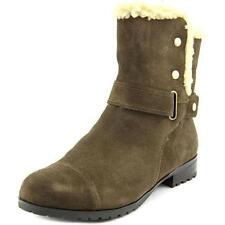Low (3/4 in. to 1 1/2 in.) Suede Medium (B, M) Boots for Women