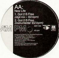 NEW LIFE - Got 2 B Free - 1990 A&M Records – Amy 582