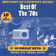 HISTORY OF COUNTRY MUSIC BEST OF THE 70'S CD