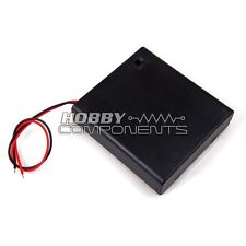 ***Hobby Components UK*** Battery Box Enclosure with built-in on/off switch