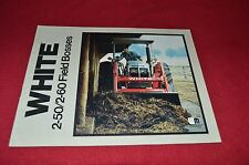 Oliver White Tractor 2-50 2-60 Field Boss Tractor Dealer's Brochure CNMD