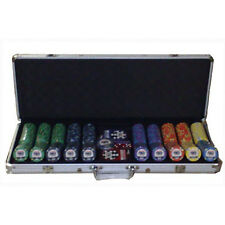 Set completo 500 Fiches Ceramica WSOP World Series of Poker replica bordo all.