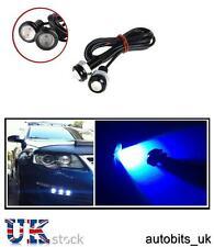 2 X 9W LED BLUE Eagle Eye Light Car bike DRL Fog Daytime Backup Parking Signal