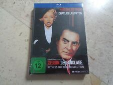 Witness For The Prosecution Blu-Ray Digibook Marlene Dietrich Billy Wilder