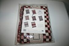 "New Turtle Creek Woven Throw Afghan Blanket 48"" x 60"" - Picnic 100% Cotton"