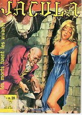 JACULA, LES MORTS TUENT LES VIVANTS, N° 39 , Editions ELVIFRANCE, BD ADULTE