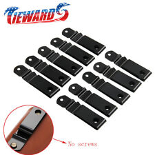 10 Pcs Metal Spring Belt Holster Sheath Clip For Kydex With Holes No Screw NEW