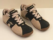 Unisex Kangaroos Lace Up Rubber Sole Trainers Low Top Size 3.5