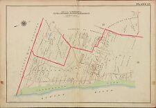 1913 G.W. BROMLEY, ALPINE, CRESSKILL, CLOSTER, BERGEN COUNTY N.J. COPY ATLAS MAP
