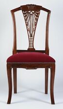 Wooden Chair Handmade / Carved Rosewood Timber with Upholstery - #1
