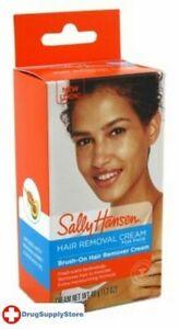 2X Sally Hansen Hair Remover Brush-On Creme for Face 1.7 oz.