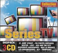 COFFRET DIGIPACK 3 CD 45T LES PLUS GRANDS TUBES SÉRIES TV DEXTER, LOST ... NEUF