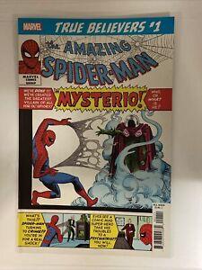 True Believers: Spider-Man vs. Mysterio. Reprints Amazing Spider-Man #13