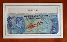PHILIPPINES Specimen set 2 to 100 Pisos (1978) UNC.