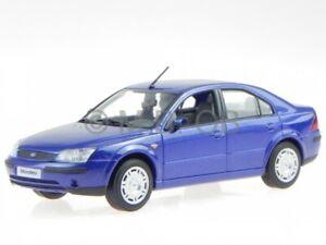 Ford Mondeo 2001 azul coche en miniatura Minichamps 1/43