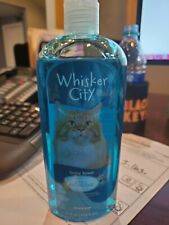 Barely Used Whisker City Hypoallergenic Spring Breeze Cat shampoo 12 oz. bottle