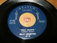BILLY LEDBETTER - TWO HEARTS - 18 NICKELS AND A RUSTY   / LISTEN - TEEN  POPCORN