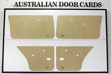 Holden TORANA LH, LX, UC. SL SLR 5000. 4-door Sedan Door Cards. Quality Masonite