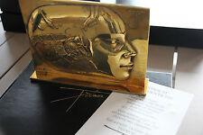 Pierre-Yves Tremois - Sculpture Bronze poli poisson Femme signé numéroté 1988