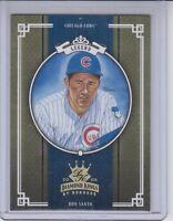 2005 Donruss Diamond Kings #283 Ron Santo Gold 3/25 Card Chicago Cubs HOF SP