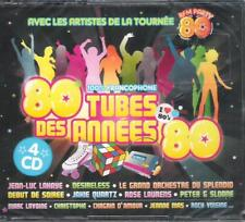 80 TUBES DES ANNEES 80 - CD BOX 4 CD -LAHAYE,MADER,IMAGES,CHRISTOPHE,MAS,PATUREL