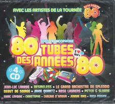 80 TUBES DES ANNEES 80 - CD BOX 4 CD -LAHAYE,MADER,IMAGES,CHRISTOPHE,MAS,PATUREL