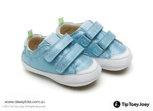 NEW Tip Toey Joey Baby Shoes - BOSSY *40% SALE* (Boy & Girl Colours)
