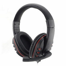 USB Wired Stereo Micphone Gaming Headphone for Sony Ps3 Ps4 PC UK
