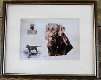 Christopher Marshall Dog Print - Labrador Retriever - Framed & Glazed