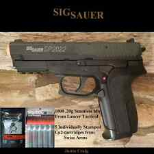 Sig Sauer Licensed SP2022 CO2 Airsoft Hand Gun Pistol Tactical rail bb Co2 PKG