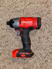 """Craftsman CMCF800 V20 1/4"""" Hex Impact Driver Tool Only"""