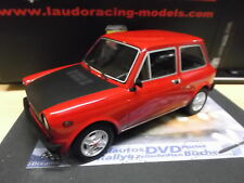 AUTOBIANCHI A112 Abarth 70HP Sport red rot Laudo Racing Resin 1/1000 1:18