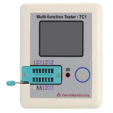 LCR-TC1 Transistor Tester Didoe Triode Capacitance Resistor NPN PNP Detecto H6Z2