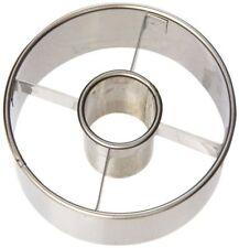 3 1/2 Inch Heavy Duty Stainless Steel Doughnut Biscut Cookie Round Cutter Maker
