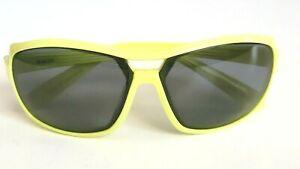 NIKE EV0615 703 008 **No Lenses** Racer Yellow Wrap Sport Sunglasses Frame Only