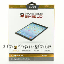 ZAGG InvisibleShield Military Grade Screen Protector Film for iPad Air 1 2 Clear