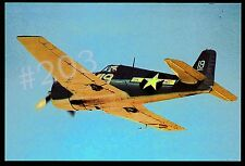 Postcard ... Grumman F6F HELLCAT Aircraft Unused Post Card