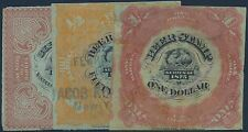 #REA31 // 35 (3) DIFF. 1875 BEER STAMPS CV $475 BS6482