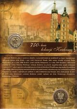 ■■■ Poland 2007 2 Zlote Polish Cities CRACOW Location KRAKÓW in Blister UNC ■■■